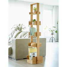 wireworks Design Bookcase Bookie - Versatile bookcase made of trendy oak.