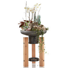 Also a beautiful planter – a decorative raised container for the terrace, balcony or entrance hall.