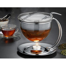 "1.5 l ""Filio"" Teapot with Warmer - The model for modern, stylish tea preparation for nearly 30 years."
