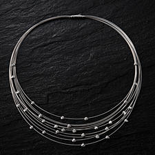 Diamond Cable Collier Necklace - Such delicate jewellery rarely attracts as much attention.