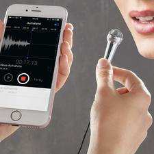Smartphone Mini Microphone - You immediately feel like a television presenter or pop star.