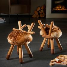 Bambi Chair - Charming as a child's seat, sculpture, shelf, ...