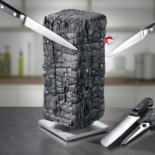 Magnetic Knife Block Pyrolith - Modern sculpture? Knife block? Both!