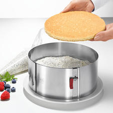 """10cm (3.9"""") high (instead of usually only 6-7cm (2.4""""-2.8"""")). Ideal for creating elaborate cakes like a professional patissier."""