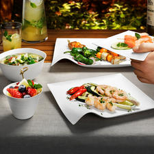 Design Oneway Dishes, Set of 8 - Exquisite Japanese design. Perfect for aesthetes.