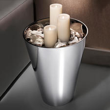 Incredibly versatile: Nice as a decorative highlight filled with LED candles (separately available).