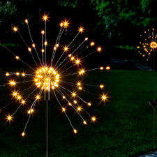 Solar Miracle Sparkler - A fascinating display of the finest lights – like giant miracle sparklers.