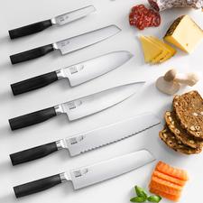 Tim Mälzer Kamagata Knives - The new Kamagata knives by KAI, Japanese knife specialists since 1908.