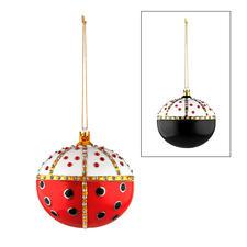 "Ladybird King, 8x 6cm (3.1"" x 2.4"") (Hx diameter)."