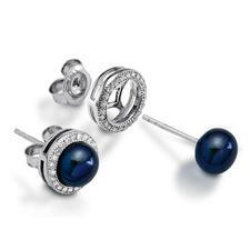 Black/Blue Pearl