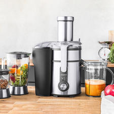 Gastroback 4-in-1 Juicer - Juicer, blender, multi-crusher and herb/spice mill in one. With a powerful 1,300W motor.