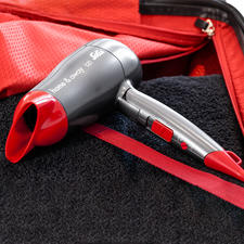 Solis home & away Compact Hair Dryer - A bigger, more powerful hair dryer. In ultra-compact (travel) format.