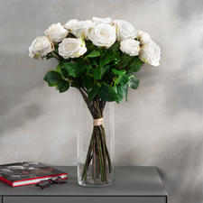 Avalanche Rose Bouquet - Everlasting beauty: Fascinating and true to nature - just like fresh from the florist.