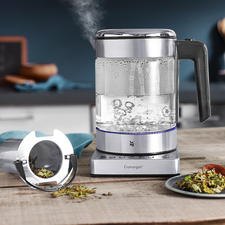WMF KÜCHENminis® Vario Kettle - The space-saving 1-litre kettle. Ideal for perfectly brewed tea.