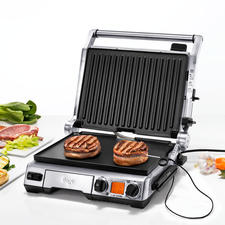 Smart Grill™ Pro - Constantly measures the core temperature. Automatically adjusts grilling time and temperature. And advises you of the optimal resting period.