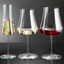 Wine Glasses Stem Zero, Set of 2 - Wonderfully delicate and elegant. Nevertheless, extremely resistant to breakage.