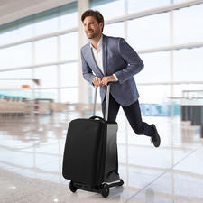 Suitcase Scooter - Never too late at the gate anymore.