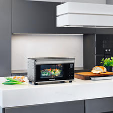 Bistro Oven with Rotisserie - Perfect for frying, grilling, baking, toasting, defrosting, warming up.
