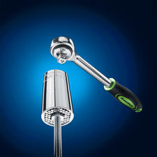 "Suitable for practically any kind of hook, nut and screw with a diameter of 7 – 19mm (0.28"" - 0.75"")."