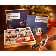 Advent Calendar Kit Porsche 911 - Daily pleasure: It will bring you closer to your dream car in 24 steps.