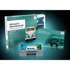 Advent Calendar Kit VW Bulli T1 - Turn advent into an automotive festival in 24 steps. Scale model 1:43, officially licensed.