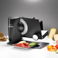 Graef Slicer Lafer Edition - Fully equipped to professional standards. Co-developed by celebrity chef Johann Lafer.