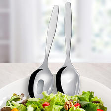 Sold separately: Matching salad servers.