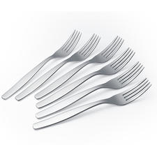 Sold separately: Matching cake forks in set of 6.
