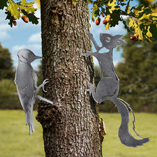 Woodpecker and Squirrel