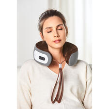 iNeck3 Massage Pillow - A complete neck massage tailored to your needs. Without the need for a power outlet or cable.