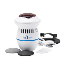 PediVac™ Pedicure - Much more hygienic: The electric pedicure with suction function.