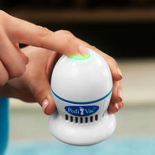 With the suction function, you quickly and thoroughly remove rough skin.