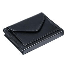 Multi Wallet, with Coin Compartment, Black