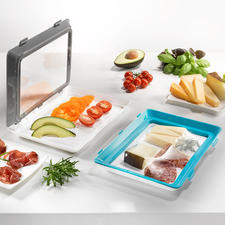 Click & Fresh Storage Dish, Set of 2 - The sustainable alternative to disposable foil and single-use packaging.