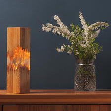 LIGNUM Table Lamp - The beauty of the imperfect – put in a new light.