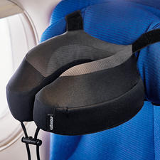 Neck Pillow Evolution® S3™ - Now even more comfortable. Ergonomically shaped from visco-elastic foam.