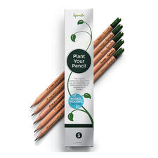 Sustainable Plant Pencils, Set of 5