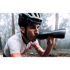 KEEGO Titanium Sports Drinking Bottle - Lightweight and squeezable like a plastic bottle. Hygienic and durable like a metal bottle.
