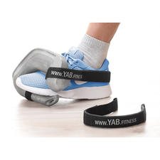 Attach the weights to your shoe with the separately available YAB.Belt for an intensive workout of the leg, gluteus and abdominal muscles.
