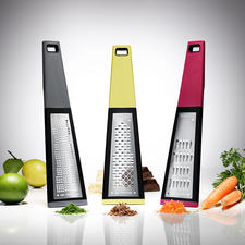 KAI Kitchen Grater - 3 specialists for almost every task. Blade sharpness and precision made in Japan.