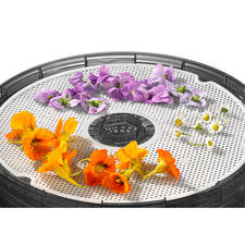 Easily dry herbs and flowers on the herb sheet supplied.