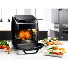 Hot Air Fryer Bistro Vital - Roasts, bakes, braises, dehydrates, grills, gratinates, toasts, heats up. Healthy, low-fat and low-calorie.