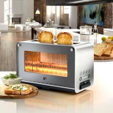WMF Toaster With Glass Viewing Window LONO - Great design, great technology and a great price. Durable quality by WMF.