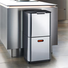"""""""Intelligent Waste"""" Waste Separation System - Elegant, clean design. Well thought-out layout. By Joseph Joseph, London."""
