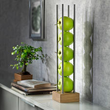 Fruit Stand - Sleek fruit stand instead of protruding bowl: Saves space and looks cool.