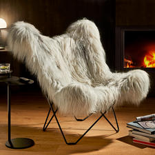 Mariposa Lounge Chair - Once a pioneer of unconventional comfort, today an extremely elegant classic. Original by Cuero/Sweden.