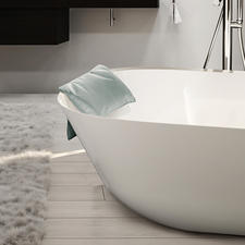 Bath Pillow LOFT - Much more elegant and comfortable: Washable bath pillow creates a soft spot for your head.