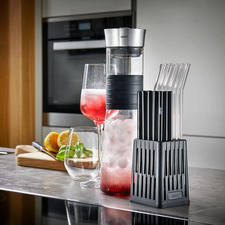 Gefu® Drinking Straw Dishwasher Basket - The first dishwasher rack specifically for sustainable drinking straws.