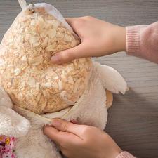 Sold separately: 180g (6.3oz) Swiss pine bag refill for £14.95.