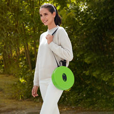With practical shoulder strap so you can carry the stool comfortably.